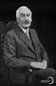 Sir Joseph Hood, Mayor of Wimbledon