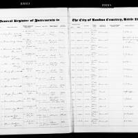 Burial Registers January 1950 to December 1959