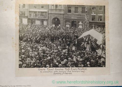 Hereford Drum Head Service, Hereford,1919