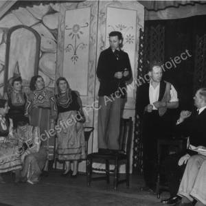 High Green Operatic Society, leading players in'Carissima', 1954