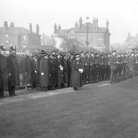 Bootle Police Force, Armistice Day, 1925