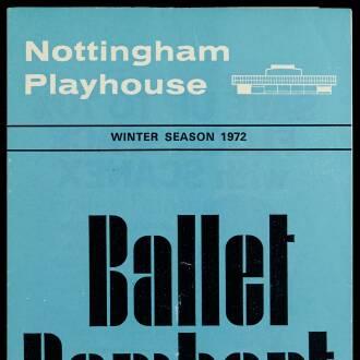 Nottingham Playhouse, January 1972