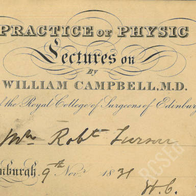 Practice of Physic