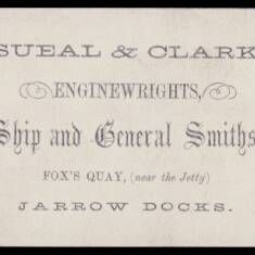 Sueal and Clark, Enginewrights