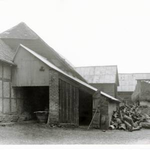 Black Hall Farm Barn, Kings Pyon, Herefordshire, 1935, exterior