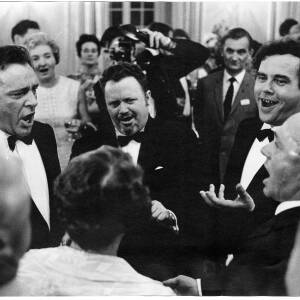 210 - Harry Secombe & Richard Burton singing in a group