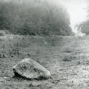 Bosbury, markstone near Barlands