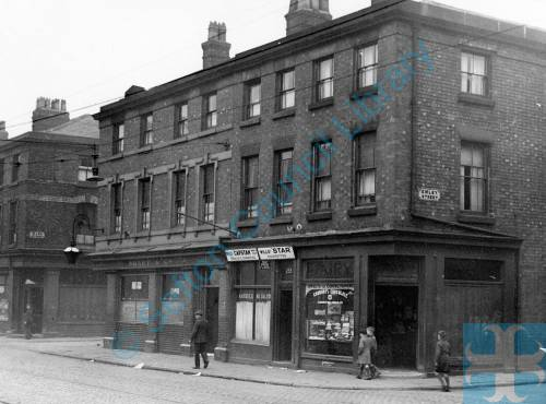 Derby Road, Bootle, between Emley and Mann Streets