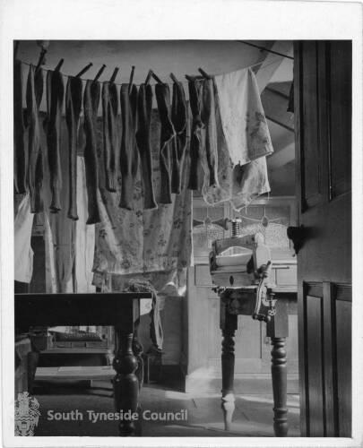 Washing Day at 38 Saville Street, South Shields