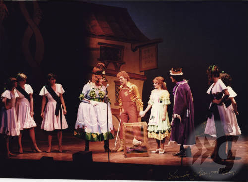 Photograph - Mother Goose 1977 - including Ronnie Christie, George Payling and Johnny Beattie
