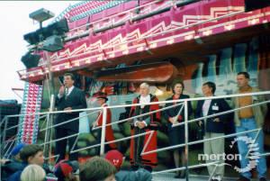 Mitcham Fair: Opening ceremony