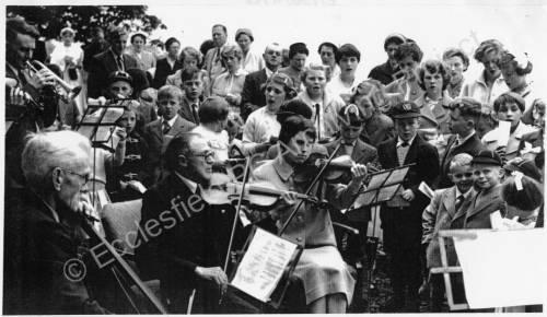 Barnes Hall, Whit. Sing c1955