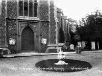 The Sundial - St. Mary's Church, Wimbledon Village