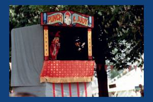 Punch & Judy show, Conservation Fair, Morden Hall Park