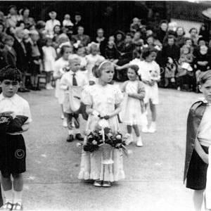 Rose Day Grenoside Infant School 1951