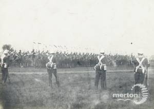 Cavalry Drill on Wimbledon Common