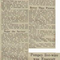 19480826 Evening News Match Report Everton