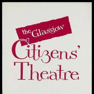 Citizens Theatre, Glasgow, February 1962