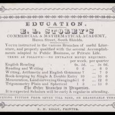 E L Storey's Commercial and Mathematical Academy