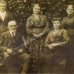 Enoch Moore and Family Of Charlton Brook Farm.