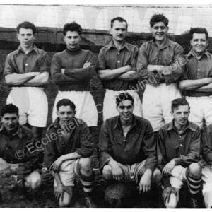 St Saviour's Church, Mortomley, football team, 1955-56.