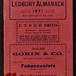 Tilley's Ledbury Almanack 1971