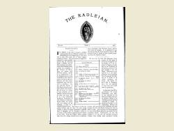 The Radleian 1904 - No. 317 June
