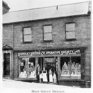 Co-operative Shop, High Green.
