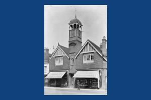 High Street, Wimbledon: Fire Station Tower