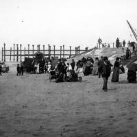 Evacuation of North Marine Lake, c1890