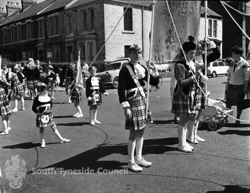 A Jazz Band, Salisbury Street, South Shields