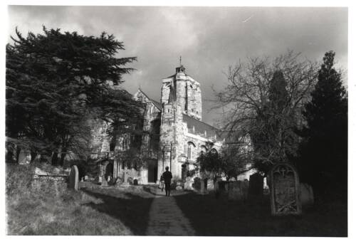 St. David's Church, c1980, Exeter