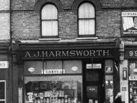 Merton High Street, No. 97:  A. J. Harmsworth