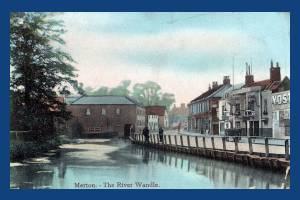 Merton High Street: River Wandle and Mills