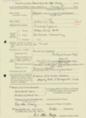 RMC Form 18A Personal Detail Sheets Feb & Sept 1933 Intake - page 101