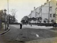 Leopold Road, Wimbledon, looking north