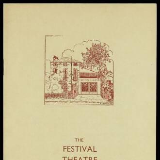 Festival Theatre, Cambridge, October 1937