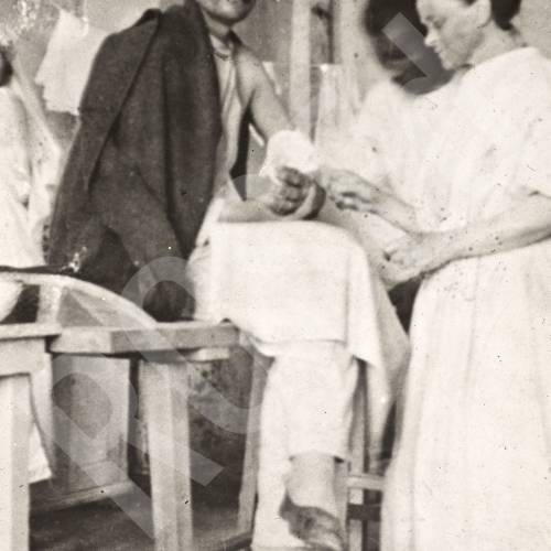 Dr Elsie Inglis Tending to a Patient in Reni