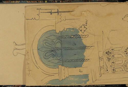Page 4 of sketchbook 1