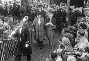 Mitcham Fair opening Ceremony Mayor & Mayoress J Bradley