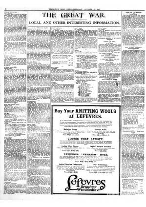 27 OCTOBER 1917