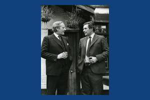 Mr Bruce Douglas-Mann and Sir Michael Havers