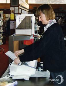 Mitcham Library, fax service