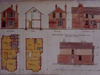 Fairlawn Road, Wimbledon: Architect's plan for house