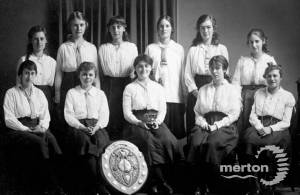 Wimbledon County School for Girls: Sixth form students