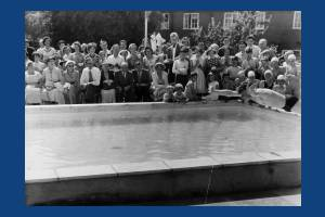 Garth School, Lilleshall Road, Morden: Official opening of the new swimming pool