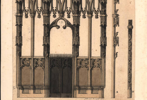 Exeter Cathedral screen, 1806, Exeter