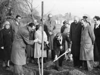 Tree Planting Ceremony at Cranmar Green, Mitcham