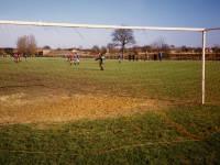 Sunday Football on Three King's Piece, Mitcham Common