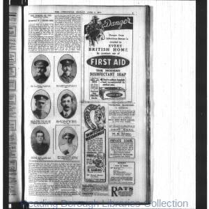 Berkshire Chronicle 1914-1920